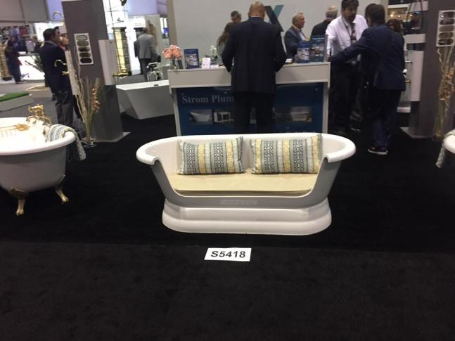 Exclusive vendor photo from KBIS 2017 conference in Orlando, FL. (Credit Peter Salerno Inc.)