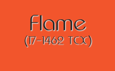 Pantone Spring 2017 color trends: Flame is a coral that demands attention.