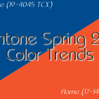 Pantone Spring 2017 Color Trends: Lapis Blue, Flame [Part 2 of 5]