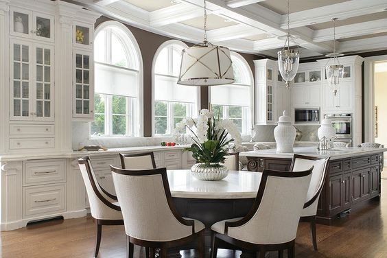 Clean And Sophisticated This White Kitchen Design Is Trendy