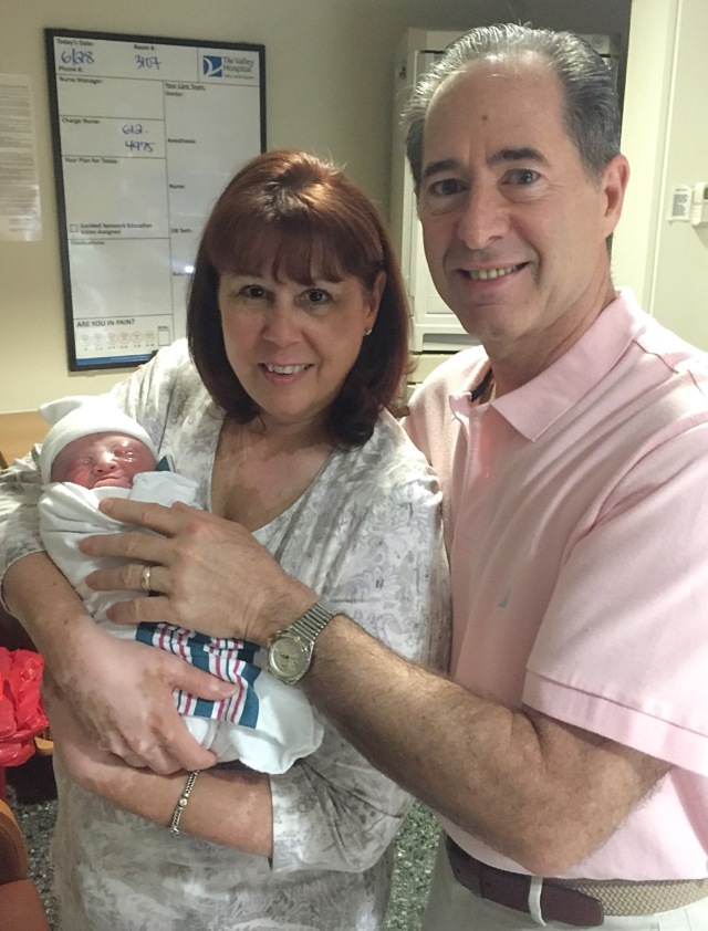 Tracy and Peter Salerno welcome their 2nd granddaughter Brielle!