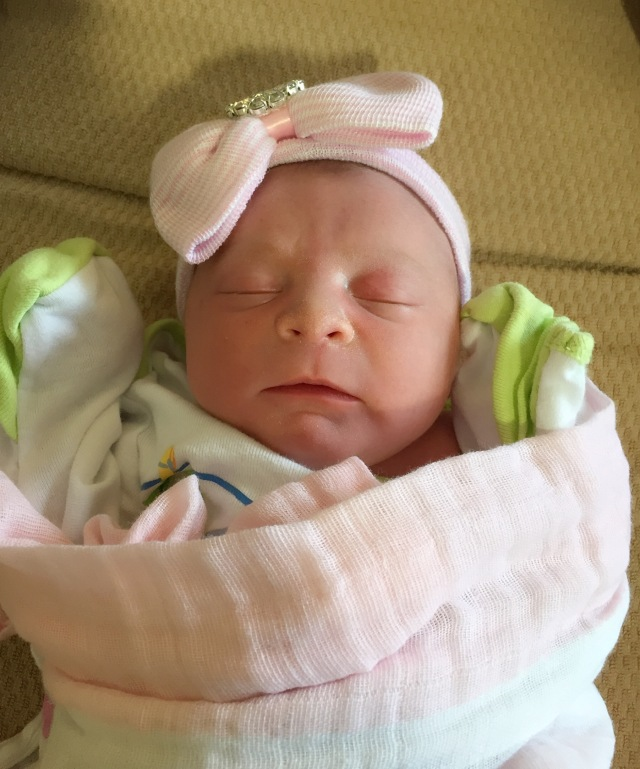 Welcome baby Brielle Nova Mayer to the Peter Salerno Inc. family!