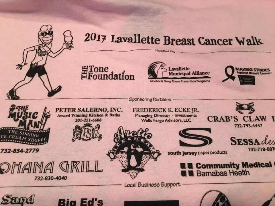 Breast cancer walk organizers