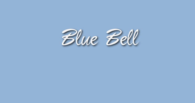Pantone Fall 2017 color collection Blue Bell