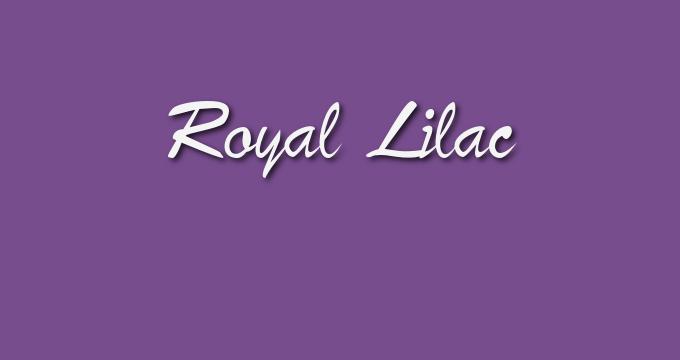 Pantone Fall 2017 color collection Royal Lilac