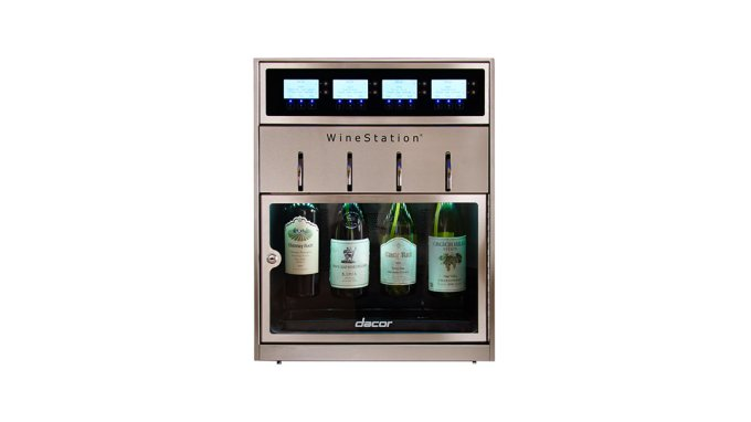 The Decor Kitchen Appliances WineStation. (Credit: Decor Kitchen Appliances)