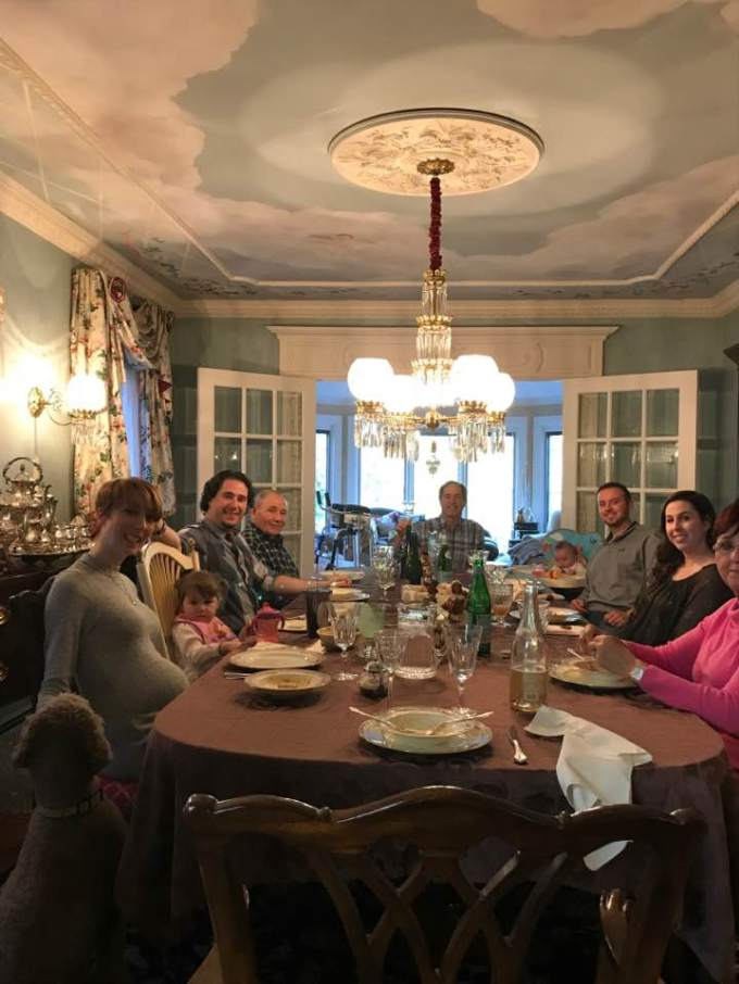 Thanksgiving 2017 photos with Peter Salerno and Peter Salerno Inc.