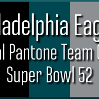 Super Bowl 52 Design: Philadelphia Eagles Official Pantone Colors