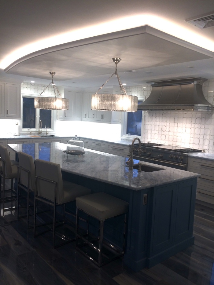 New kitchen design installation photos from Peter Salerno Inc.