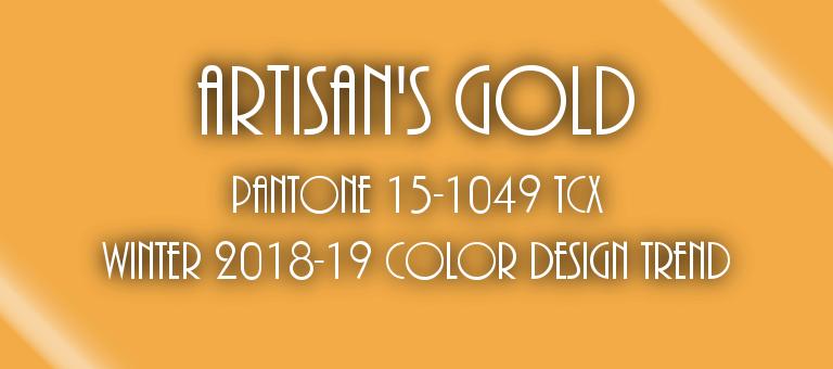 Artisan's Gold Pantone 15-1049