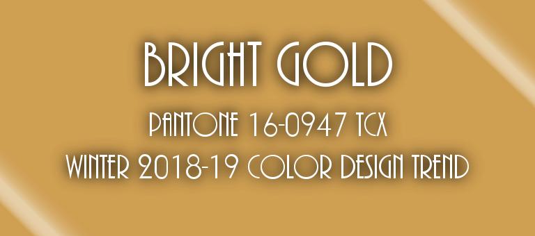 Bright Gold Pantone 16-0947