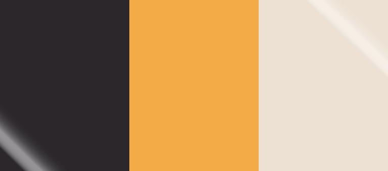Pantone Winter 2018-19 Color Palette: Black Onyx, Artisan's Gold, Eggnog