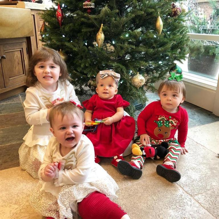 Happy Holidays, Merry Christmas and Happy New Year from Peter Salerno's granddaughters and the 'girls' of Peter Salerno Inc.!