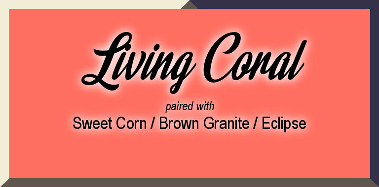 Pantone Spring 2019 Color Palette: Living Coral