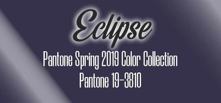 Eclipse, Pantone Spring 2019 color palette