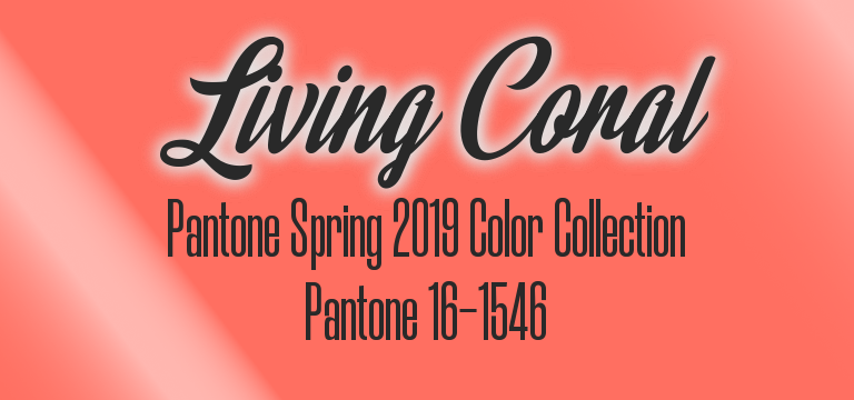 Living Coral, Pantone 16-1546, Pantone Color of the Year