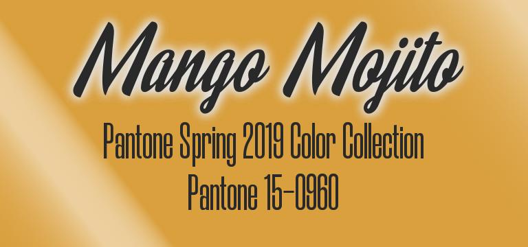 Mango Mojito, Pantone 15-0960