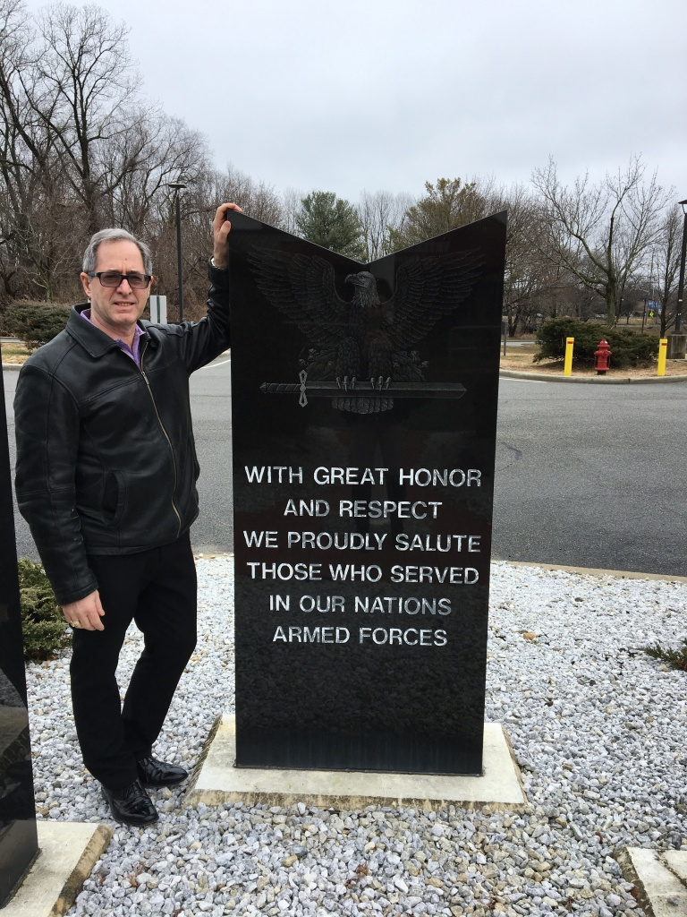 Peter Salerno visits the Paramus Veterans Memorial Home in NJ.