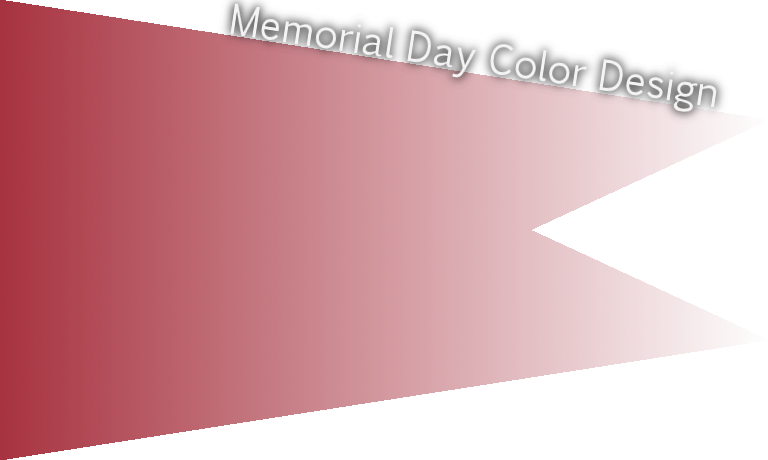 Memorial Day official color American Beauty