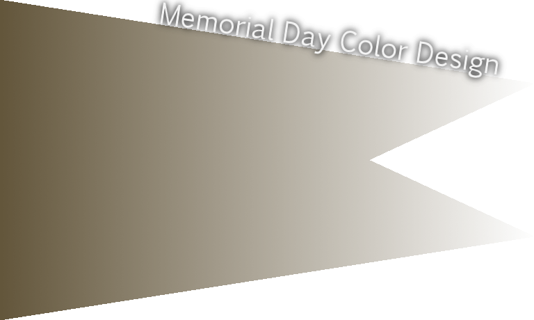 Memorial Day official color military olive
