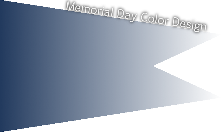 Memorial Day official color  navy peony