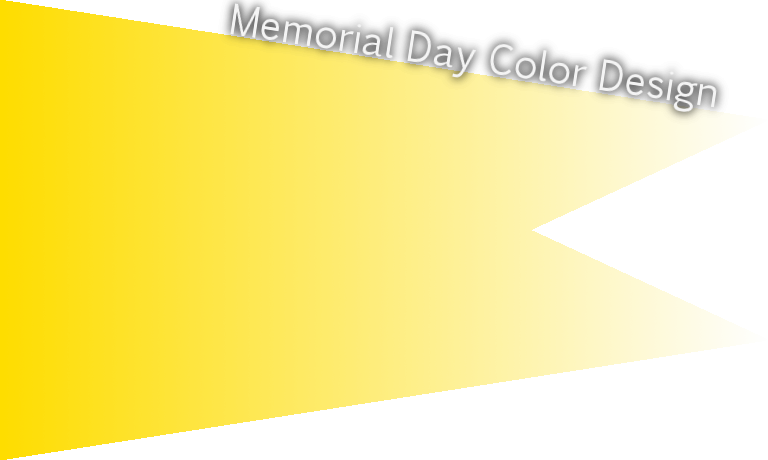Memorial Day official color Pantone yellow C