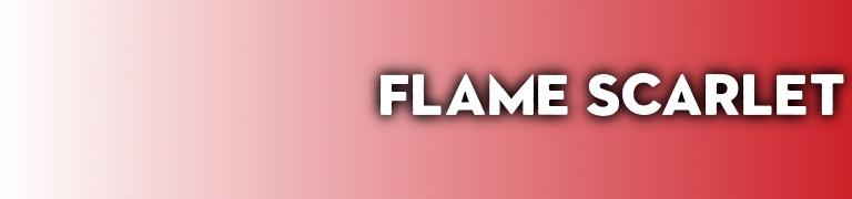 PANTONE 2020 red carpet color Flame Scarlet