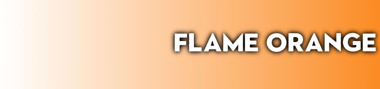 Pantone 2020 Flame Orange
