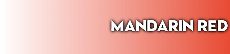 Pantone Mandarin Red 2020