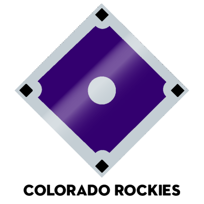 Official 2020 team colors, MLB Major League Baseball Pantone Hex Colorado Rockies