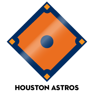 Official 2020 team colors, MLB Major League Baseball Pantone Hex Houston Astros