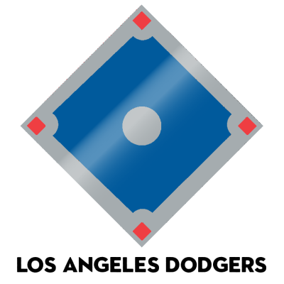 Official 2020 team colors, MLB Major League Baseball Pantone Hex Los Angeles Dodgers LA Dodgers